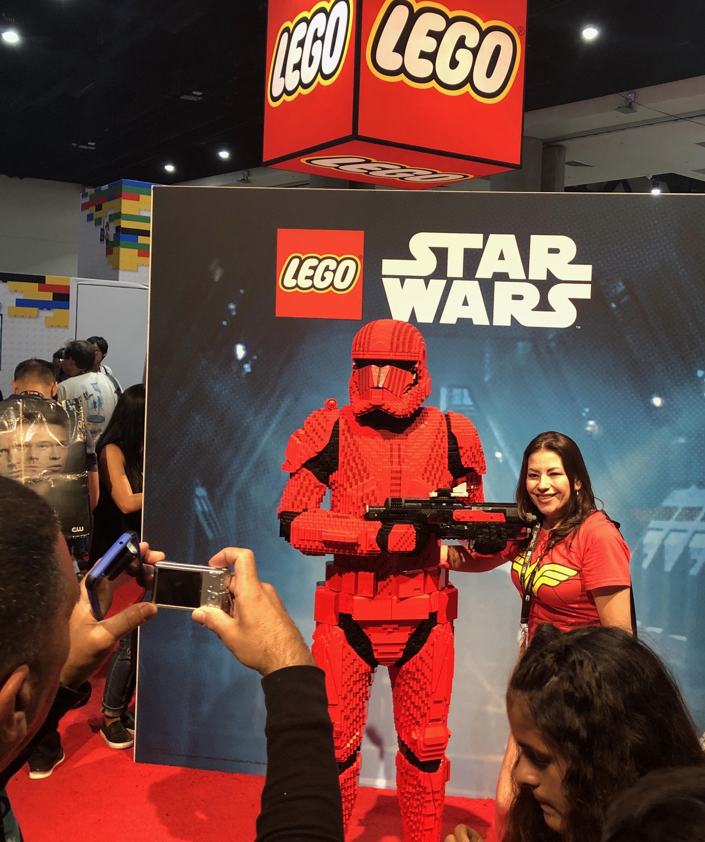 Lego x Star Wars at ComicCon 2019