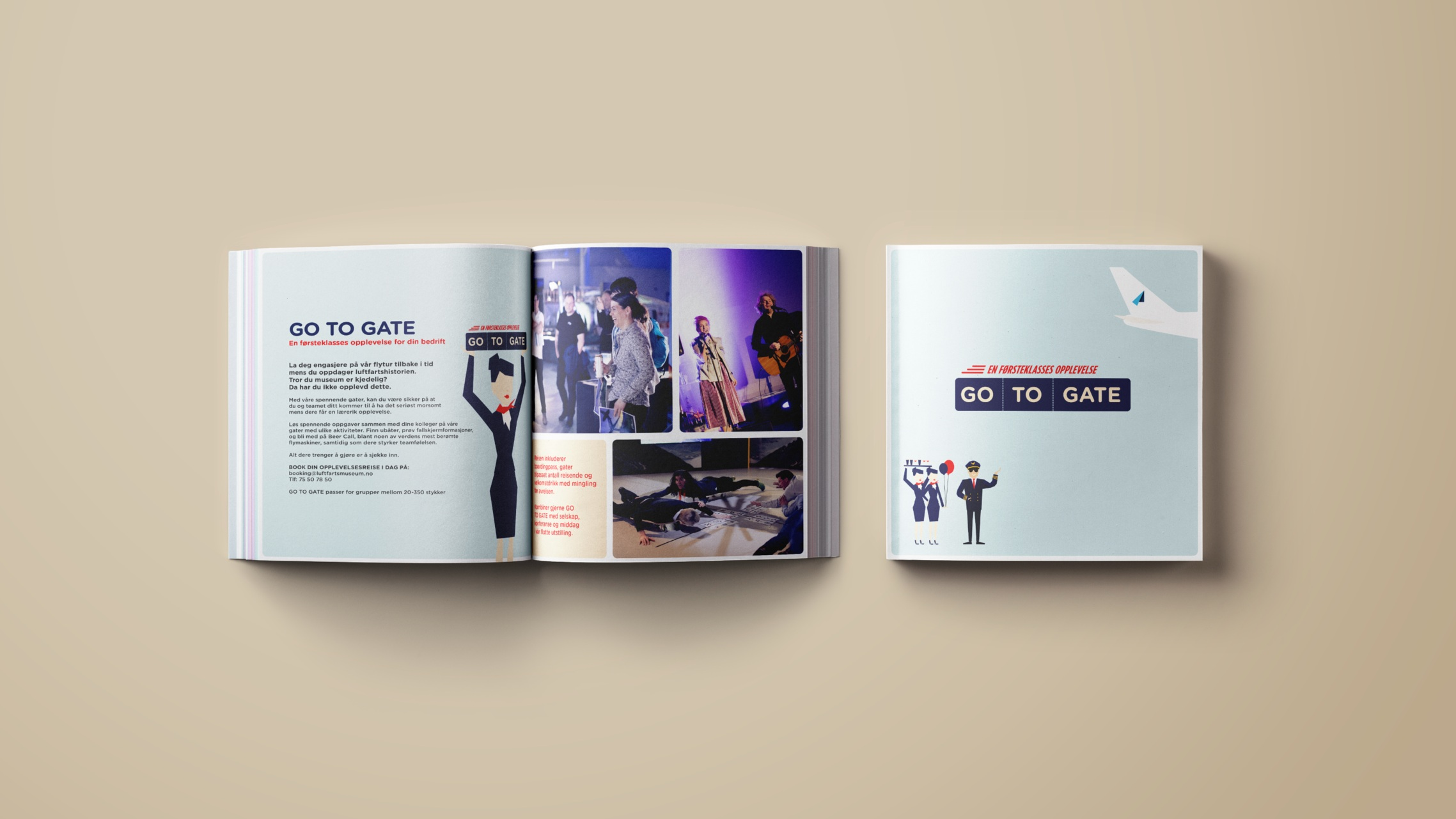 Go to gate brochure