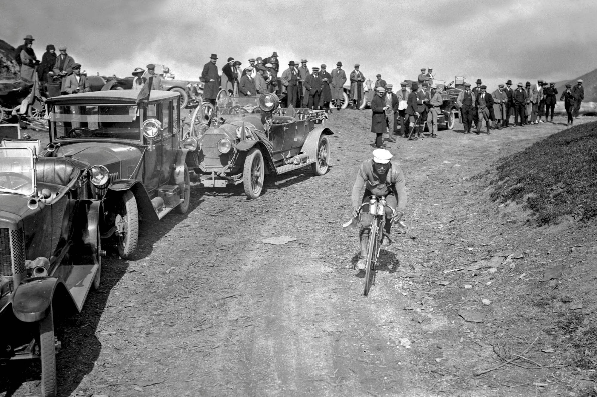 1922 Tour de France, Col du Port, Eugène Christophe