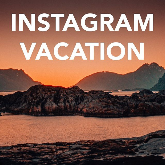 I love taking photos and use instagram as a portfolio, it's a great thing. But I tend to spend to much time just scrolling. So for a while I will stay away. If you would like to get in touch, text me, call me or send me an email! 070-5864949, knutssonjakob@gmail.com  Have a blessed summer!