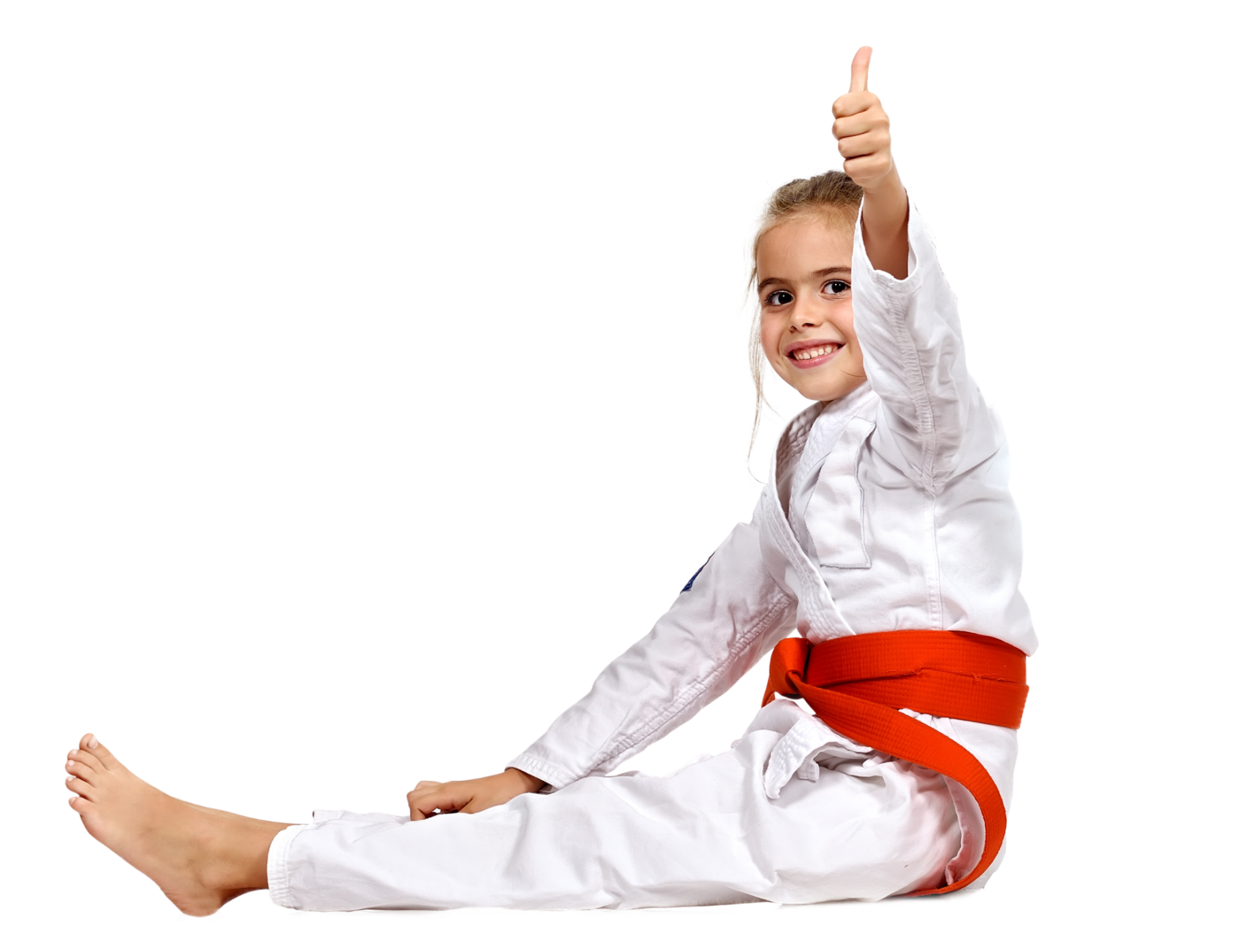 Karate Girl Thumbs Up.png