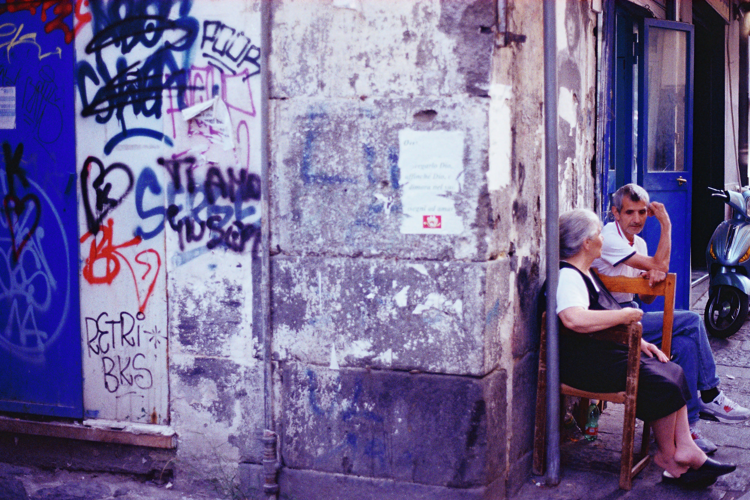 Old Couple, Naples