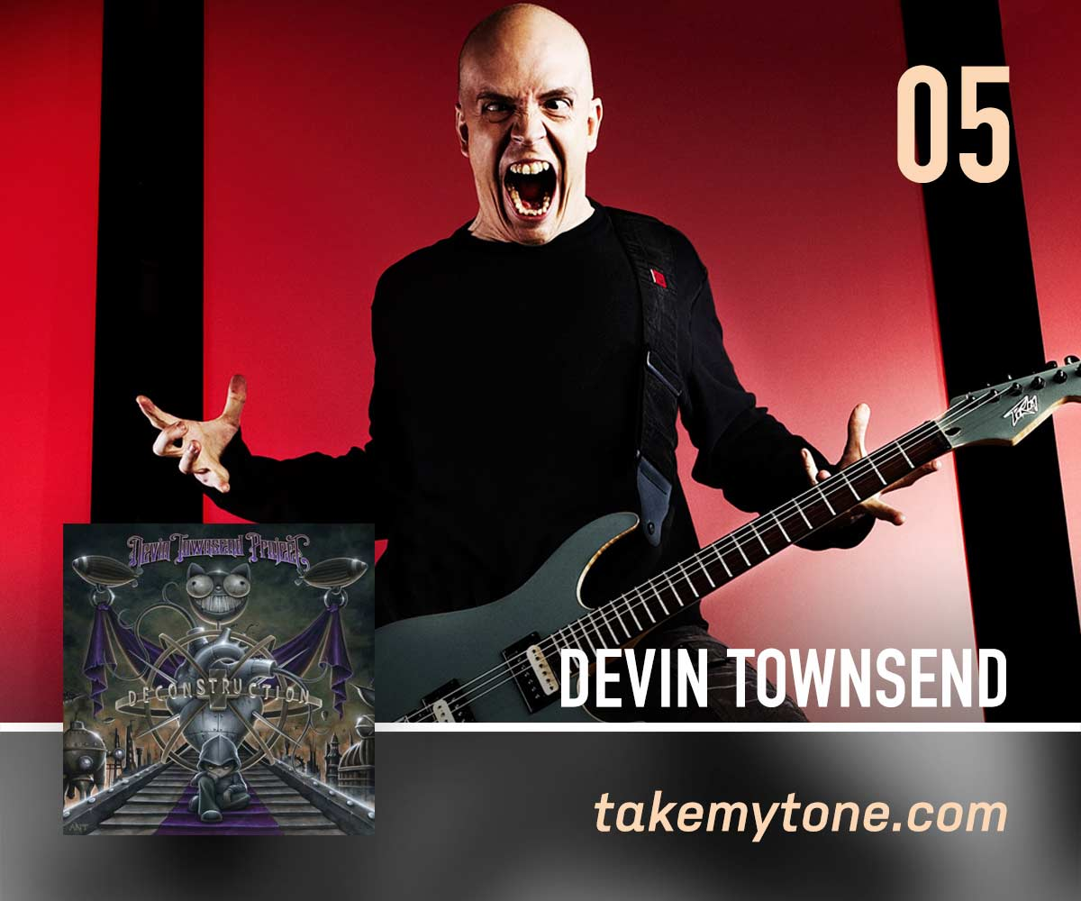 JuularDevin Townsend Project - Simon Blackburn (Take My Tone) hops on board the Hevy Devy hell train for this oddball anthem.Listen on Apple MusicListen on SpotifyCreditsWritten by Devin TownsendFrom the album 'Deconstruction'© 2011 - HevyDevy / InsideOut Music