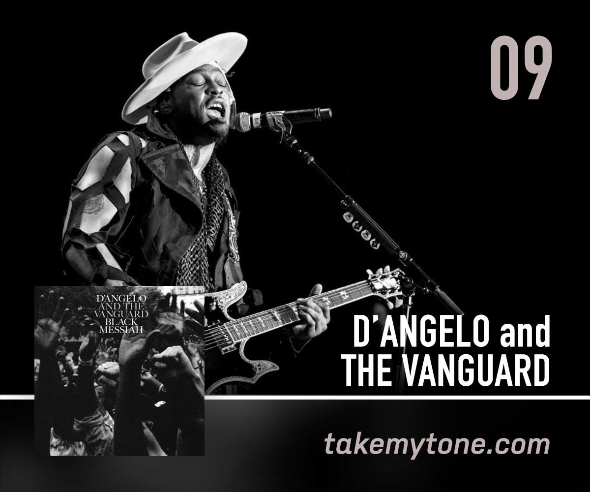 The CharadeD'Angelo / The Vanguard - Toya Haynes (The First Time I Heard…) chose a powerful D'Angelo neo-soul equality equaliser.Listen on Apple MusicListen on SpotifyCreditsWritten by D'Angelo, Kendra Foster, QuestloveFrom the album 'Black Messiah'© 2014 • RCA