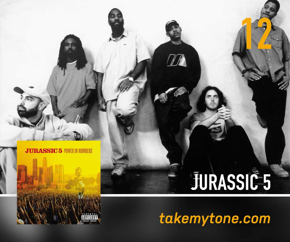 Sum Of UsJurassic 5 - Simon Blackburn (Take My Tone) brings Jurassic 5 bounce with serious phonetic flow.Listen on Apple MusicListen on SpotifyCreditsWritten by Jurassic 5From the album 'Power In Numbers'© 2002 • Interscope