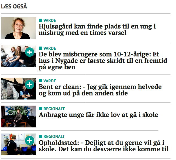 Pressearbejde for UNG