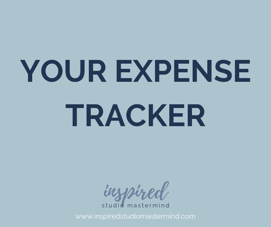 Click the button - to access your expense tracker!