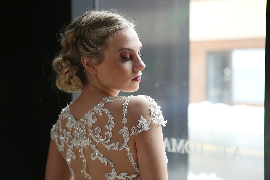 Lets chat about becoming a #theresheglowsbride - Helping you create your wedding day vision is the best part of my job. Lets chat about what current wedding hair trends and styles you love and which ones you don't! To add to your wedding day glow, we can either give you a style based on something you have already found or I can help you create your own custom bridal style based on details you like!