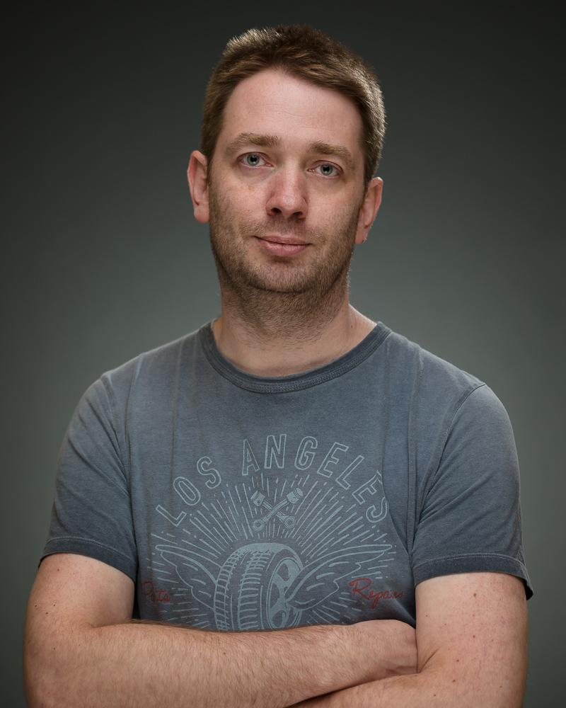 Mark Spensley - Former Post Doc