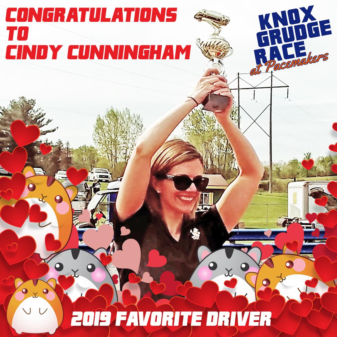 Peanut Butter, Cindy's alternate driver!