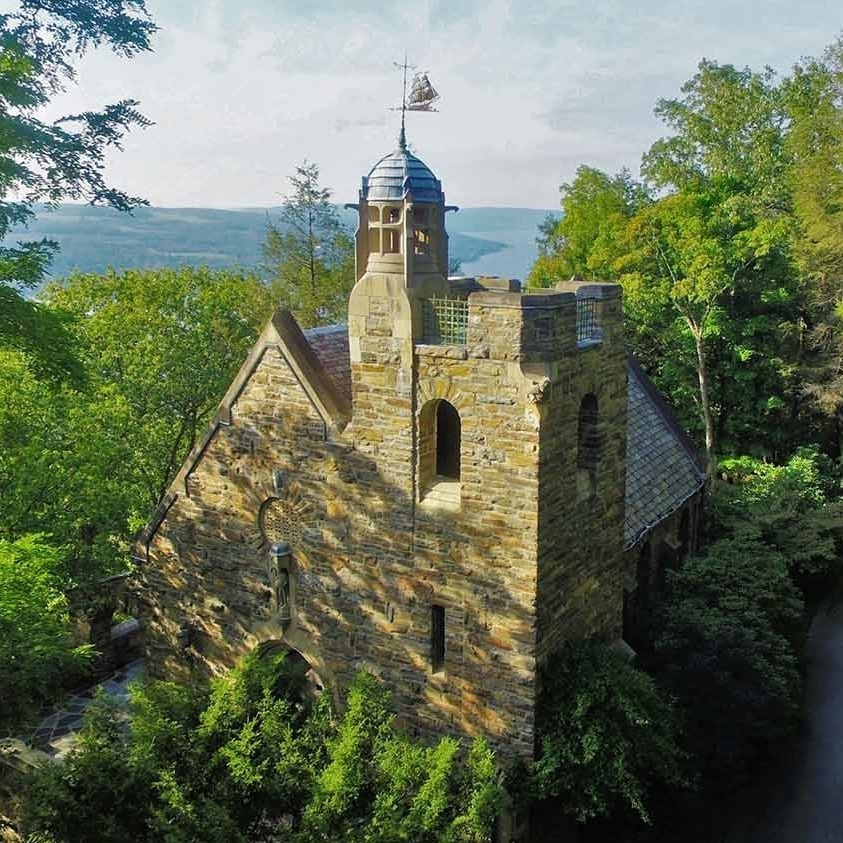 garret chapel - bluff point, new york     Photo COURTESY of the Yates County chamber of commerce