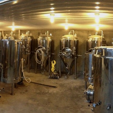 craft beverage industry at Abandon brewery - Penn Yan, New York