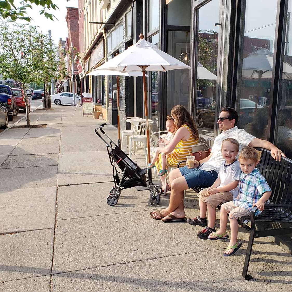 family stroll - Penn Yan, New York