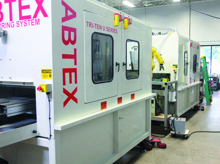 aDVANCED MANUFACTURING INDUSTRY  pHOTO COURTESY OF aBTEX CORPORATION
