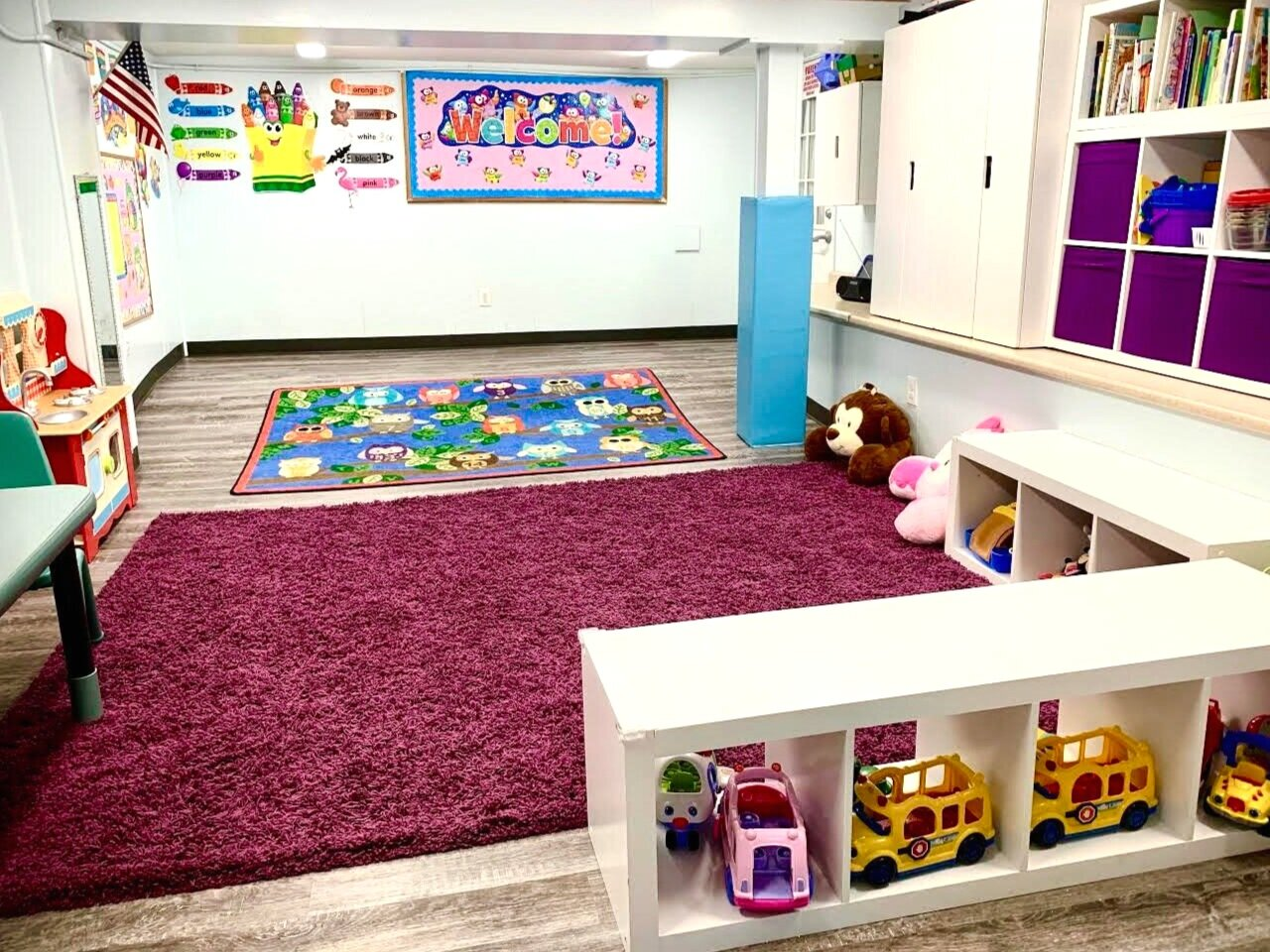 Young Toddlers classroom during our school sessions.