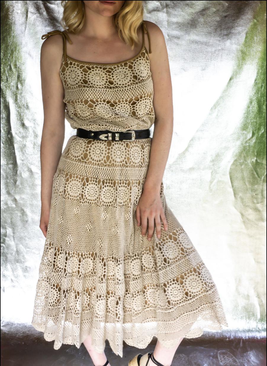 Felicita Vintage . Robe 70's . T.38 . 120€