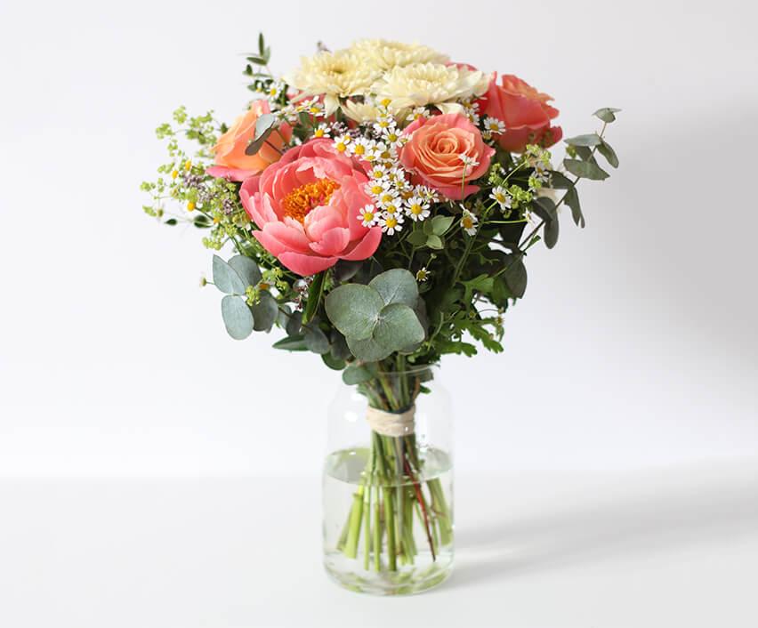 Abonnement mensuel . Petit bouquet . 33,90€