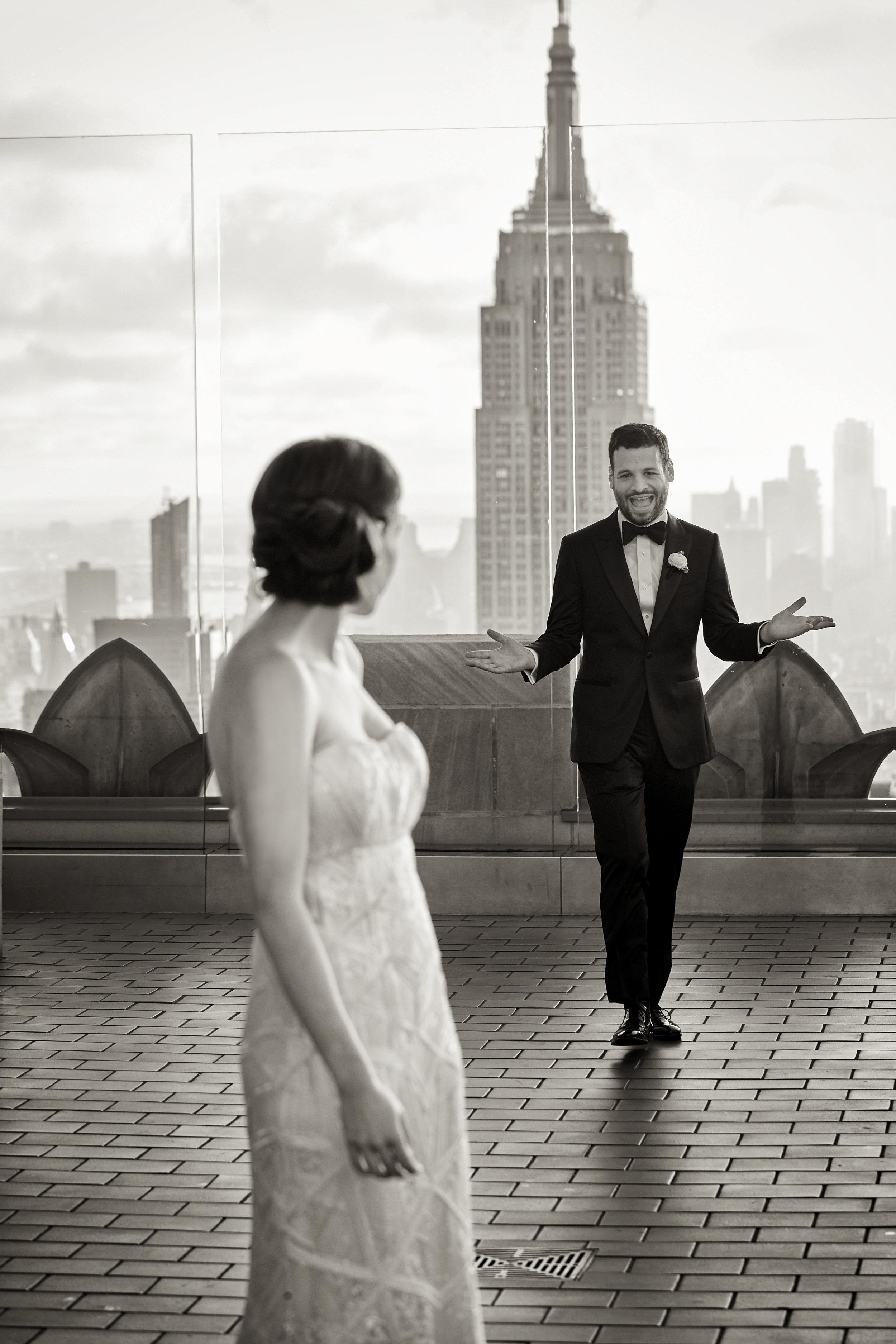 Rainbow Room Portrait by Shawn Connell Weddings