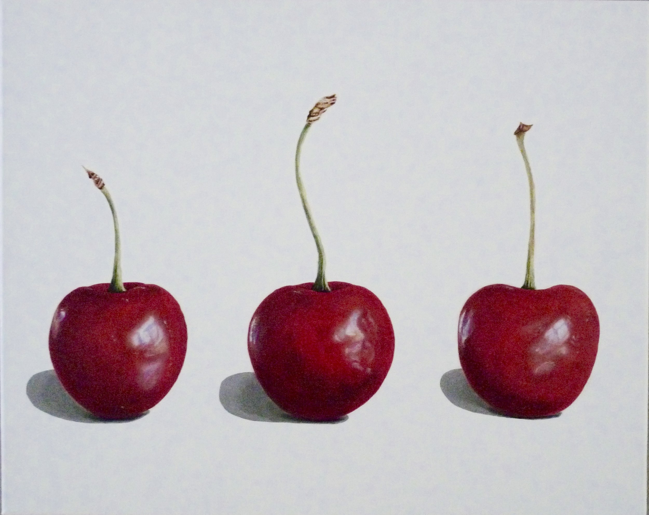 Three Cherries (White)