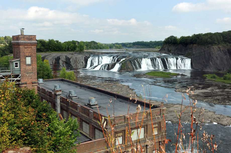 Brookfield Hydropower plant is 100 years old. Cohoes, NY