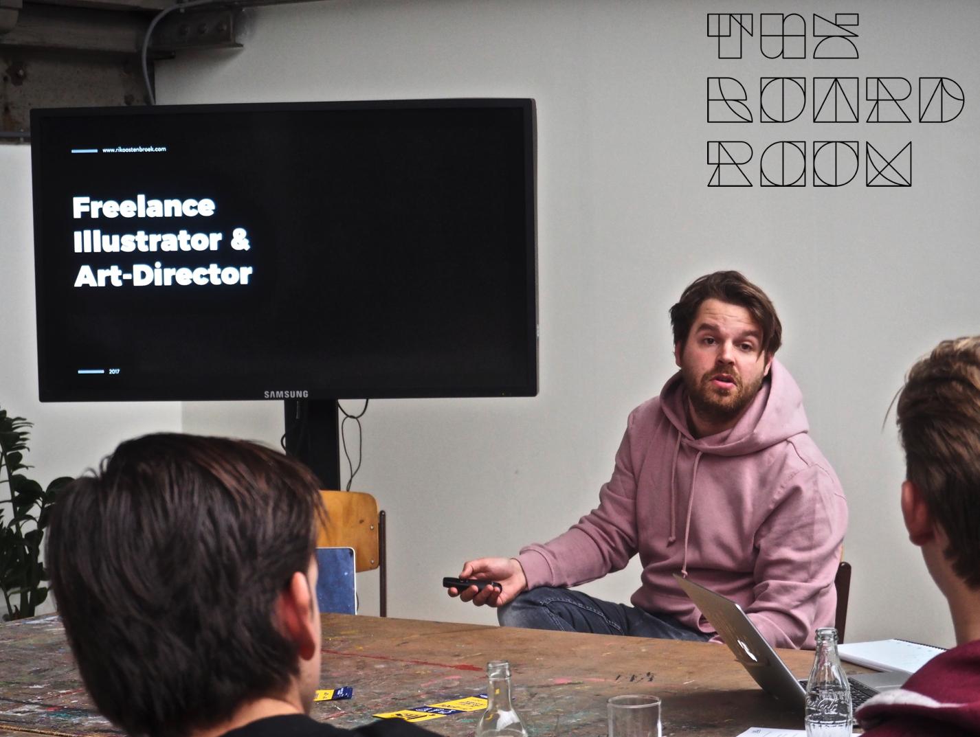 Rik Oostenbroek (digital artist), inspirator 2018