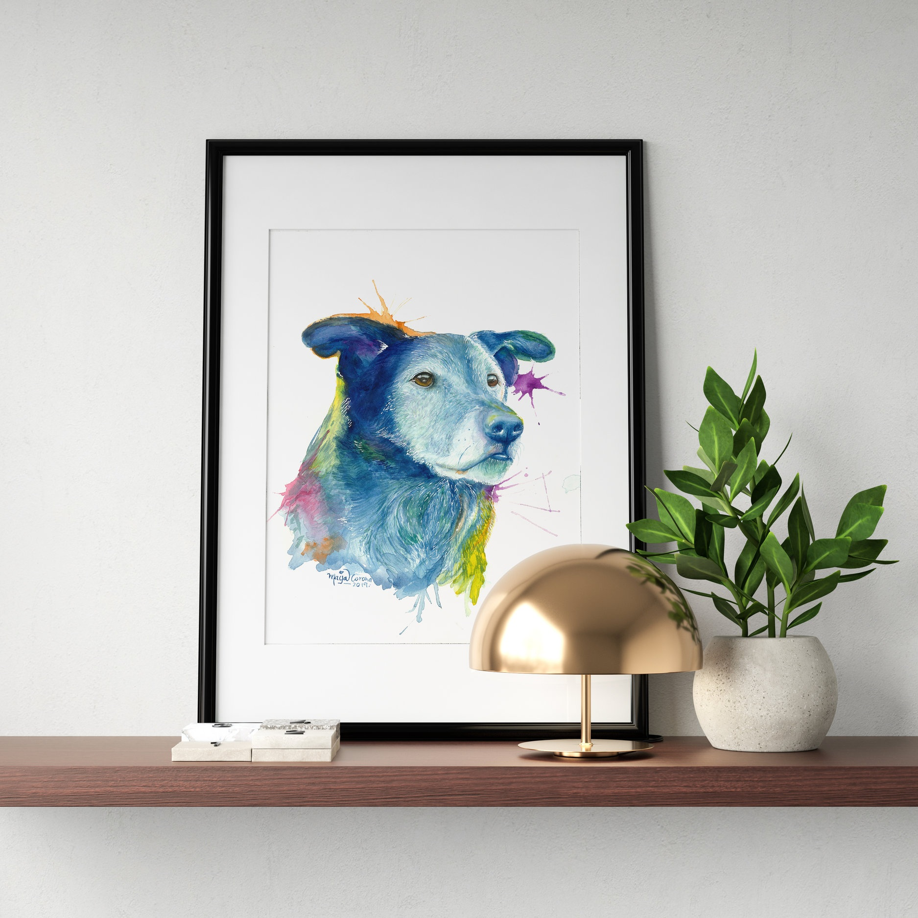 Déjà - ✰✰✰✰✰The talent Maya has is immeasurable! The details and colours of her paintings are so incredible! I highly recommend her art, whether it's a custom piece or one of her prints as a gift(or for yourself)... you will not be disappointed 👍—Kris Stanley, Calgary AB - Canada