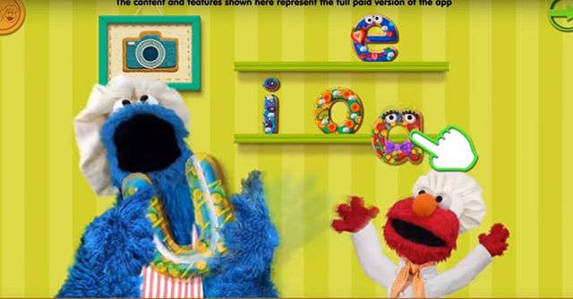 Sesame Street Alphabet Kitchen on Google Play and iTunes