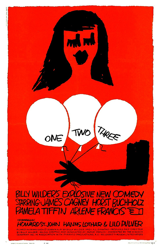One, Two, Three (1961)