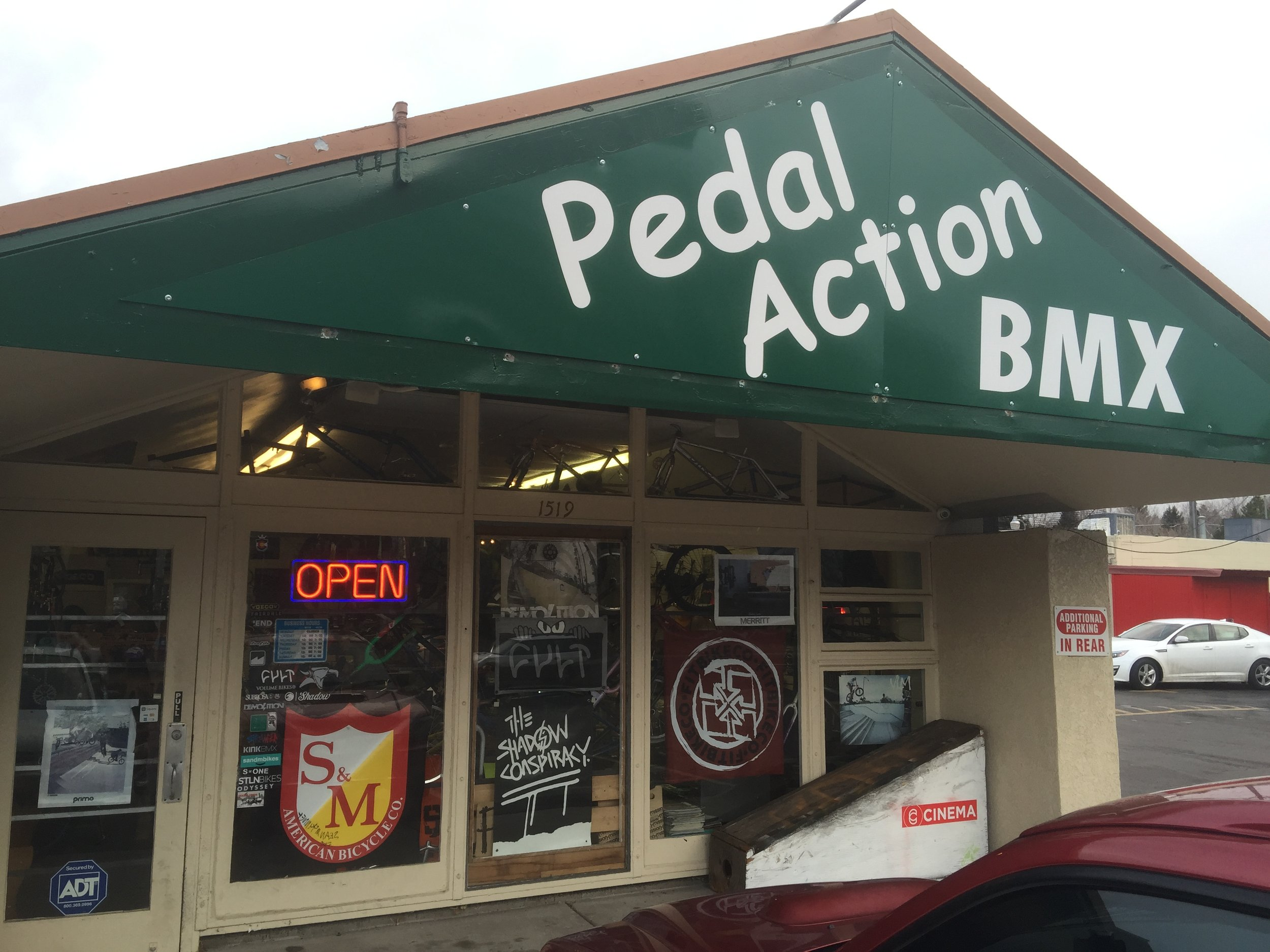 PEDAL ACTION BMX - 1519 N. Unión Blvd.Colorado Springs, 80916(719) 634 7972pedalactionbmx@gmail.com