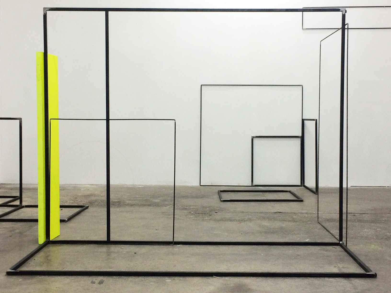 Rosalind Davis. Shapeshifters 2. Canvas and Steel. Dimensions Variable. 2016.JPG