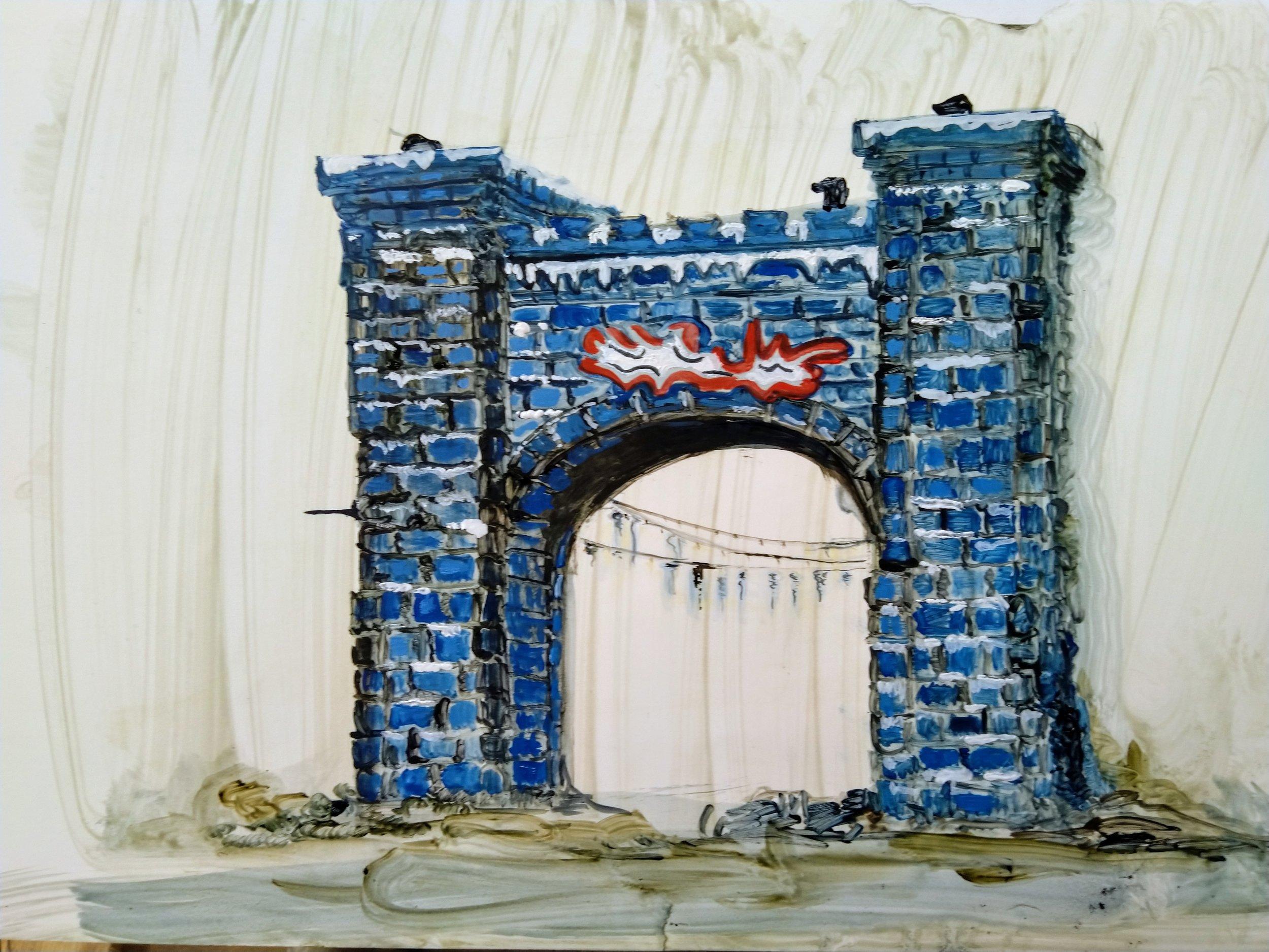 Jo Whittle.Blue Arch - WInter Wonderland.jpg