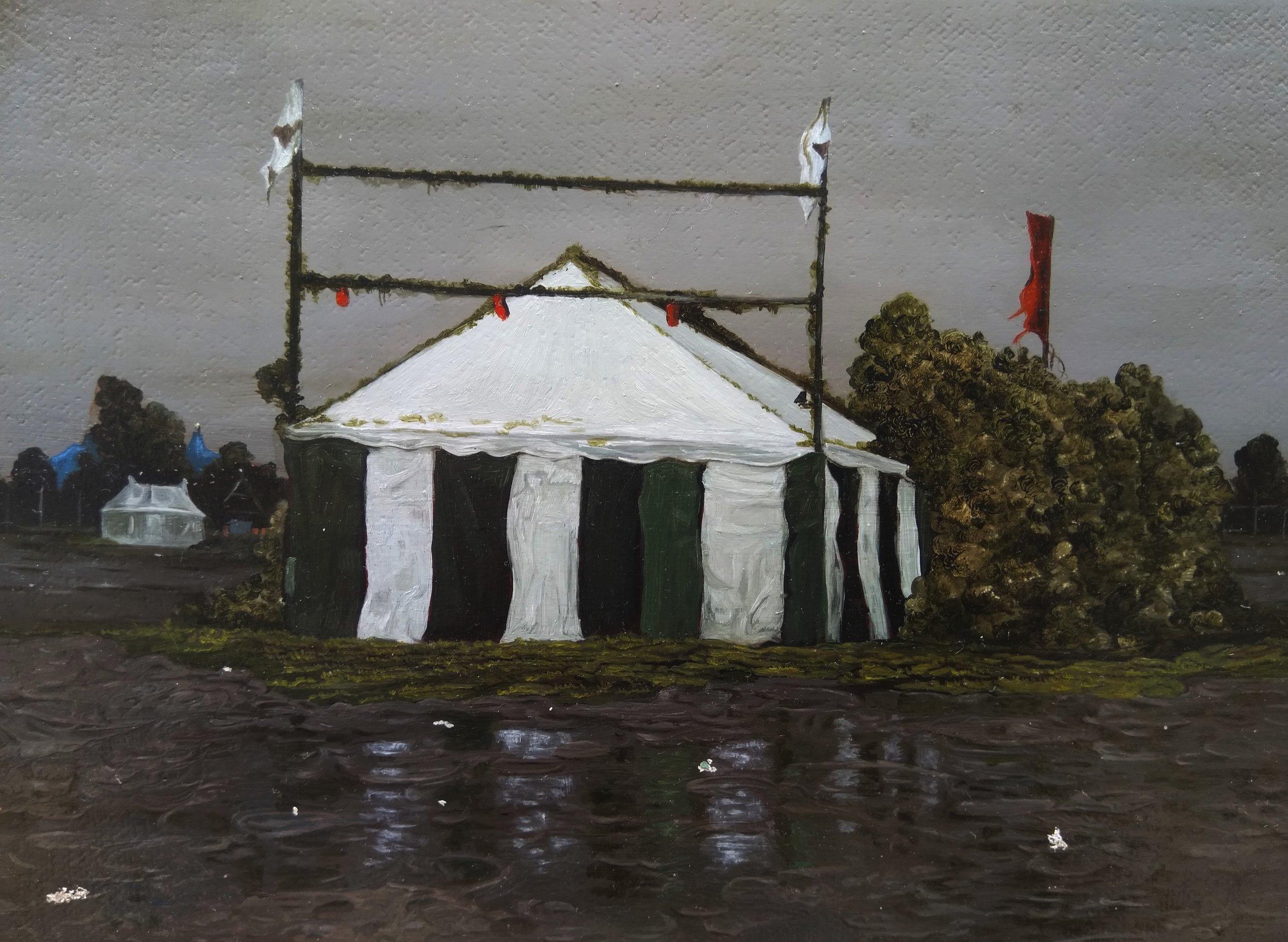 Joanna Whittle   Islanded Tent    2018.jpg