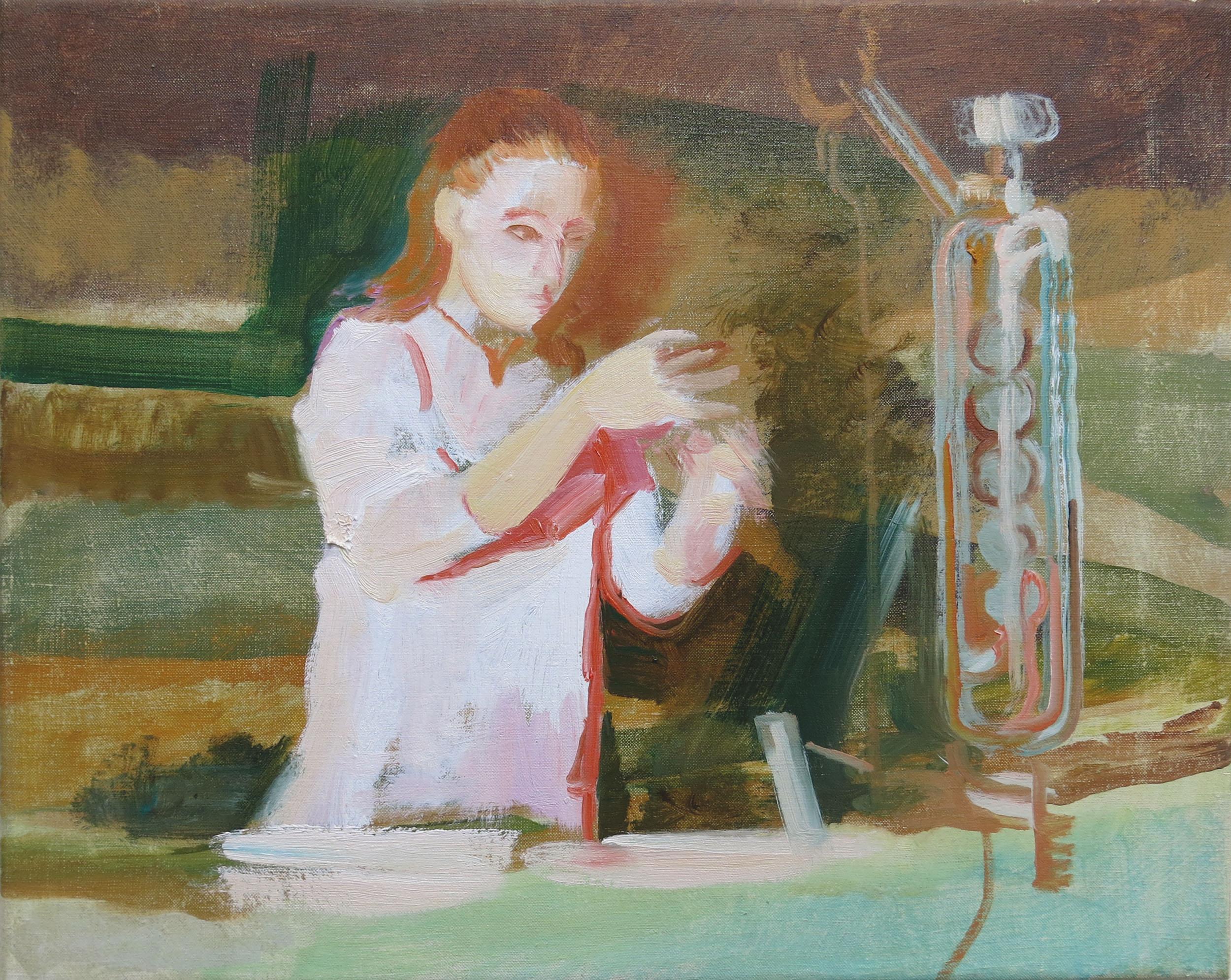 Robin Dixon. Chemist - oil on canvas 2018 45 x 55 cm.jpg
