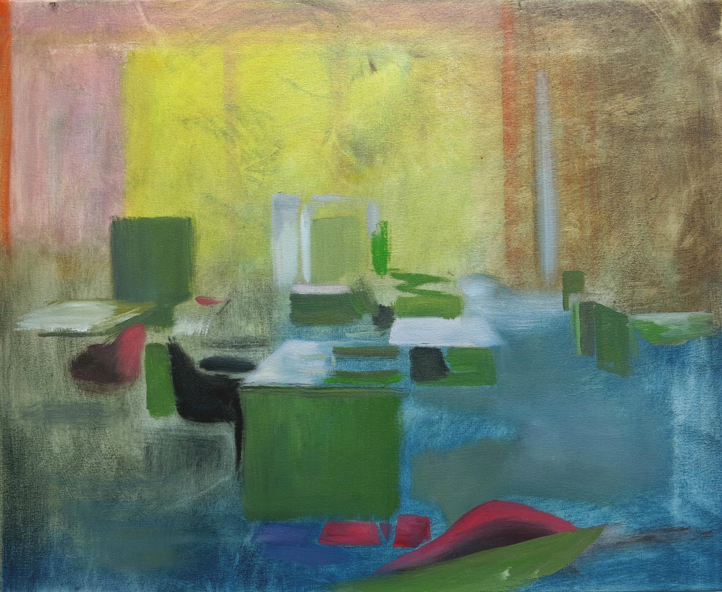 Robin Dixon.Office - oil on canvas 2016 45 x 55 cm.JPG