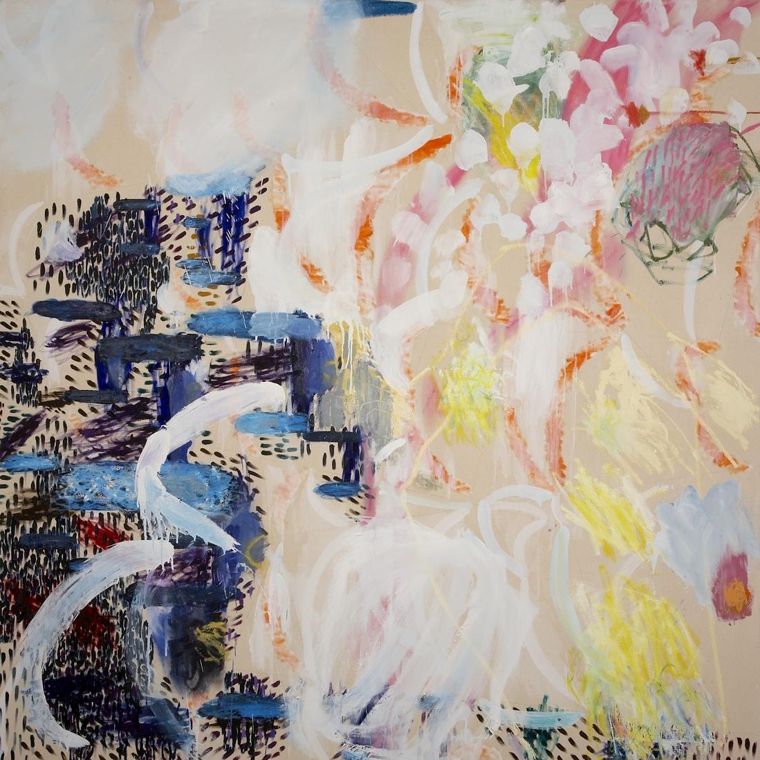 Sandra Beccarelli Light Moves       oil on canvas    180 x 180cm  2010.jpg