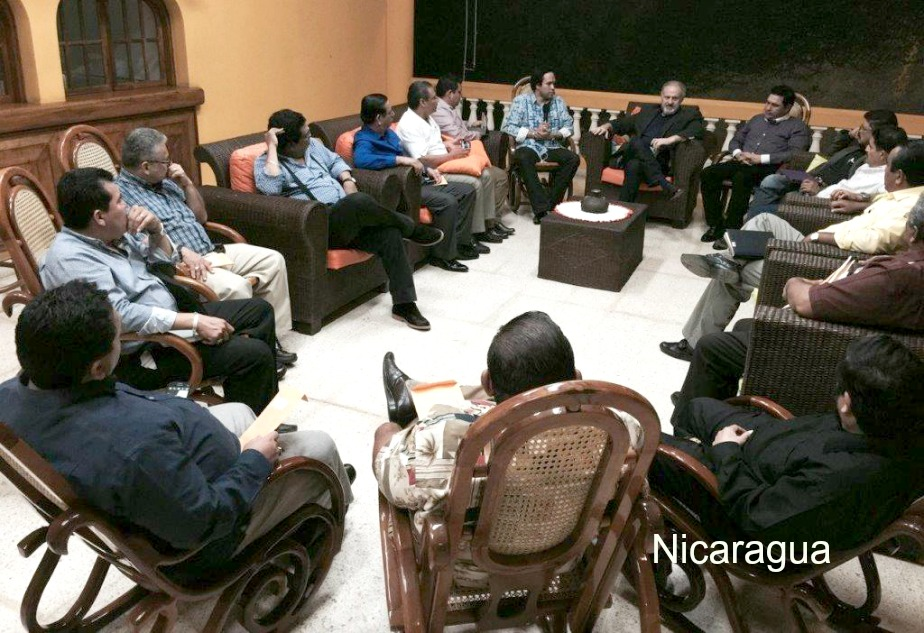 Discussion with apostolic leaders in Managua, Nicaragua