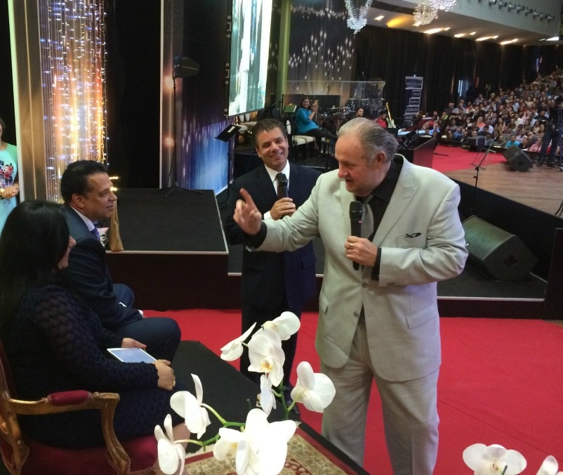 Brazil, giving a prophetic word of encouragement