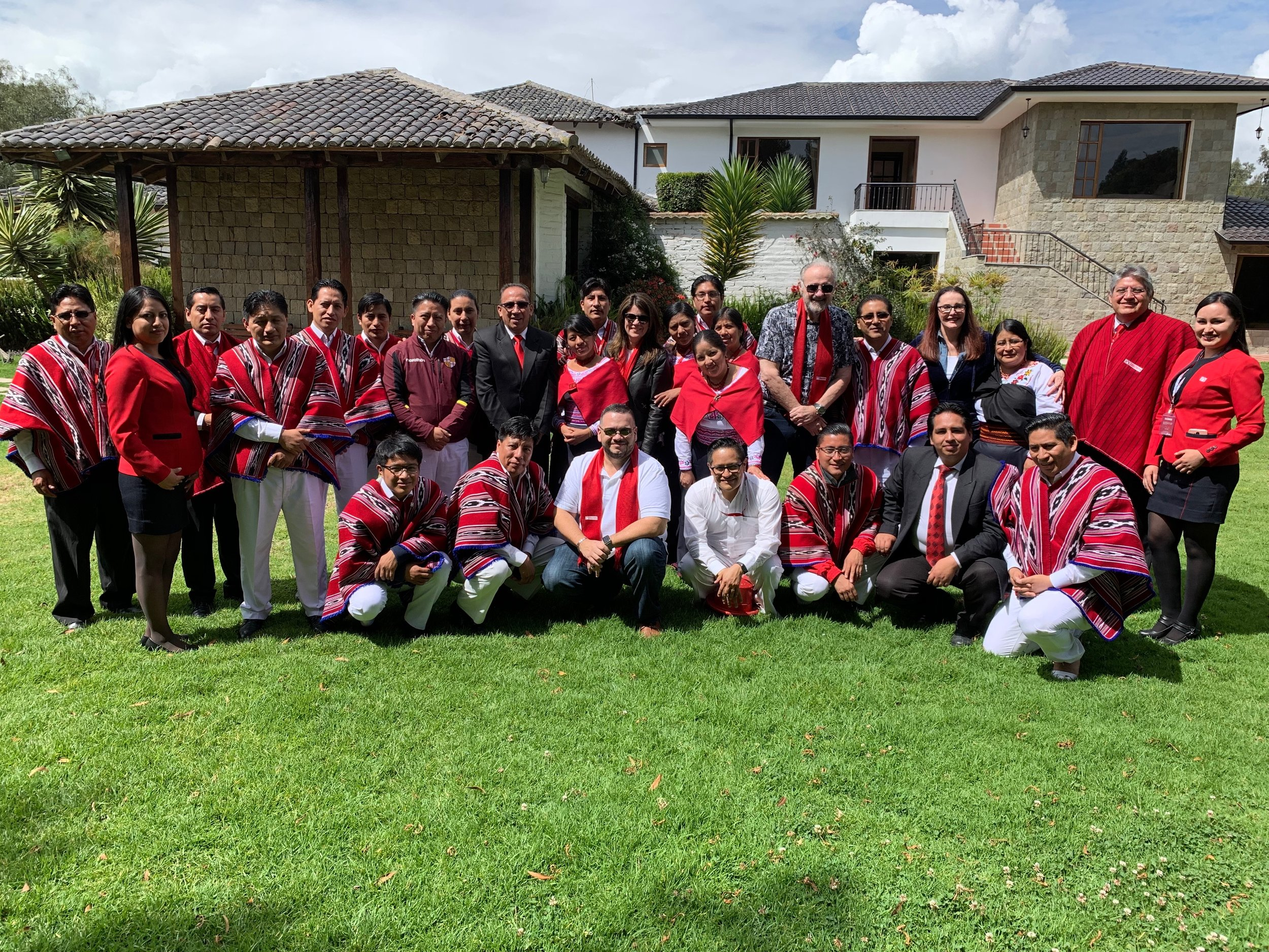 Ecuador meeting with business leaders 2019