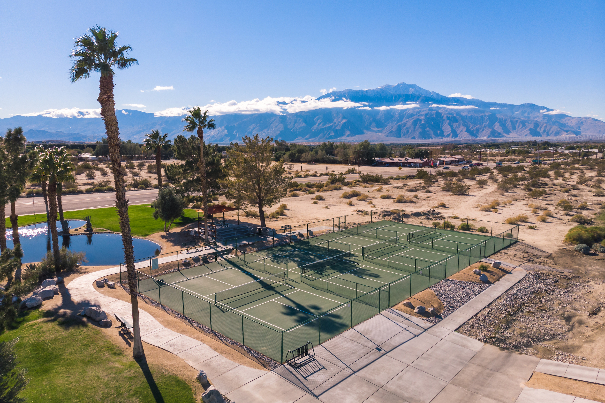 Pickleball Courts -