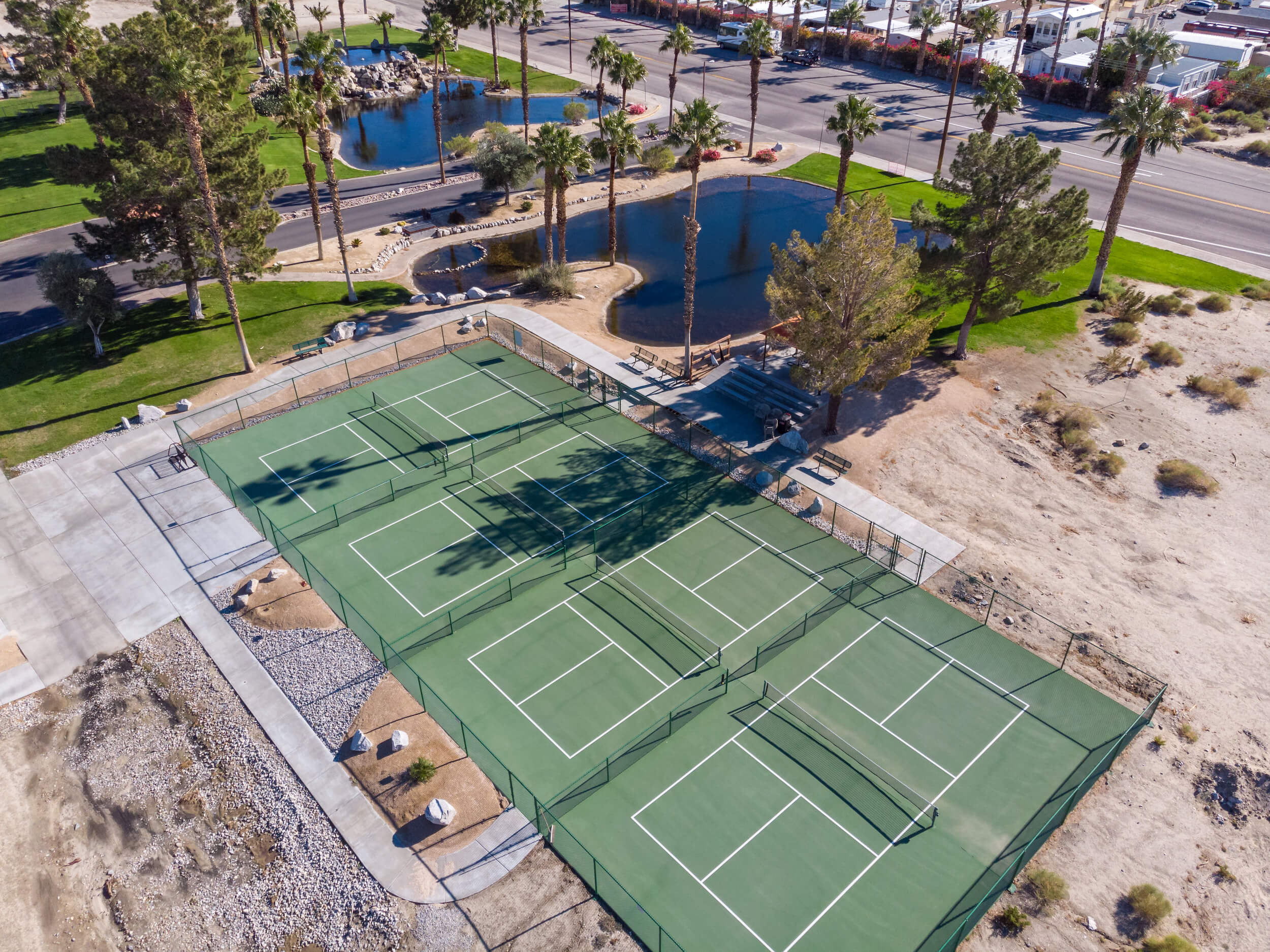 Coming for USAPA? - Bring your RV down for the National Pickleball Championships held in Indian Wells. Warm up on our courts and cool down in our natural mineral hot springs. BOOK YOUR RV SITE