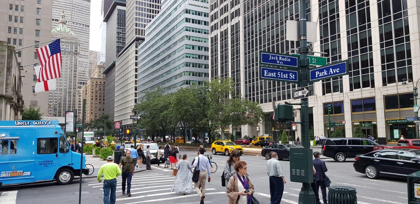 Irish Consulate on Park Avenue, New York
