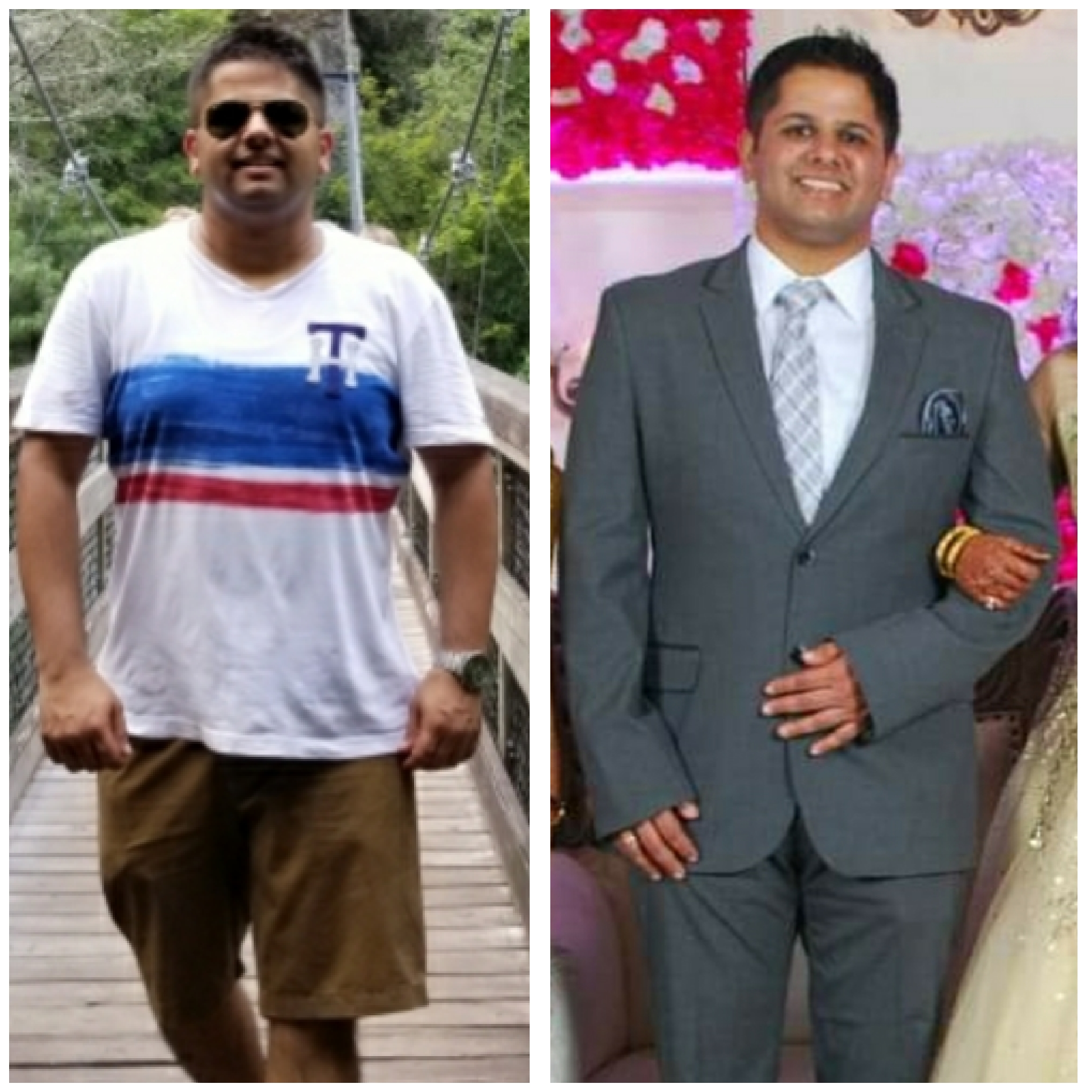 SWAPNIL LOST OVER 10 lbs.