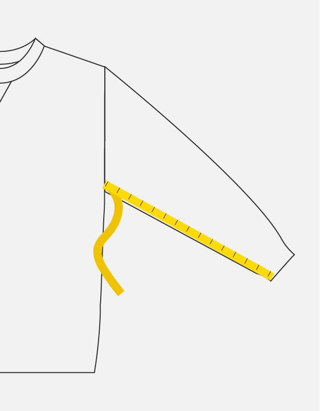 the level vintage measurements sizing sleeve
