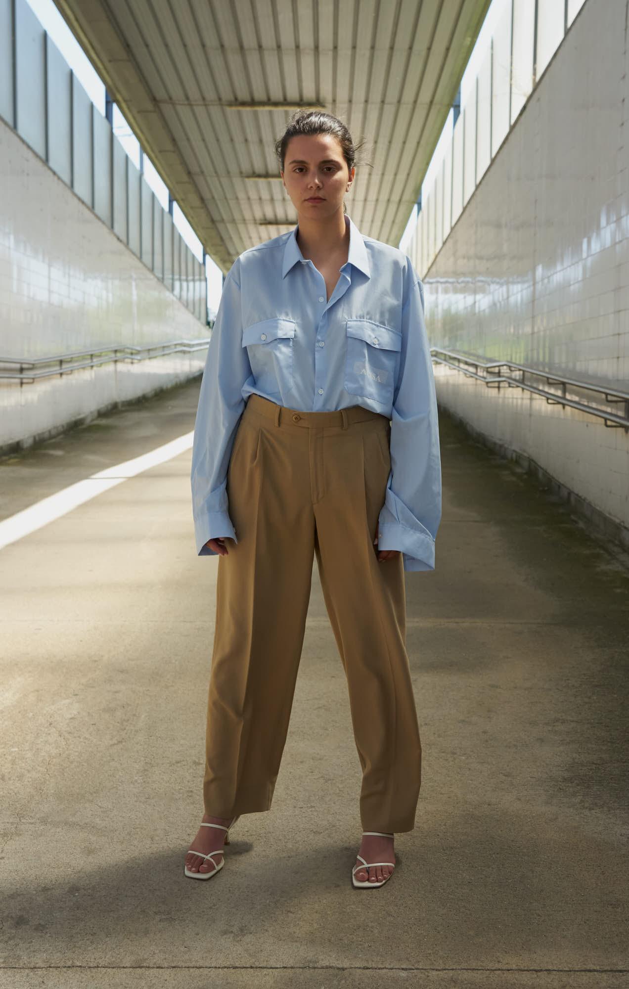 the level vintage menswear blazer pants trousers shirt