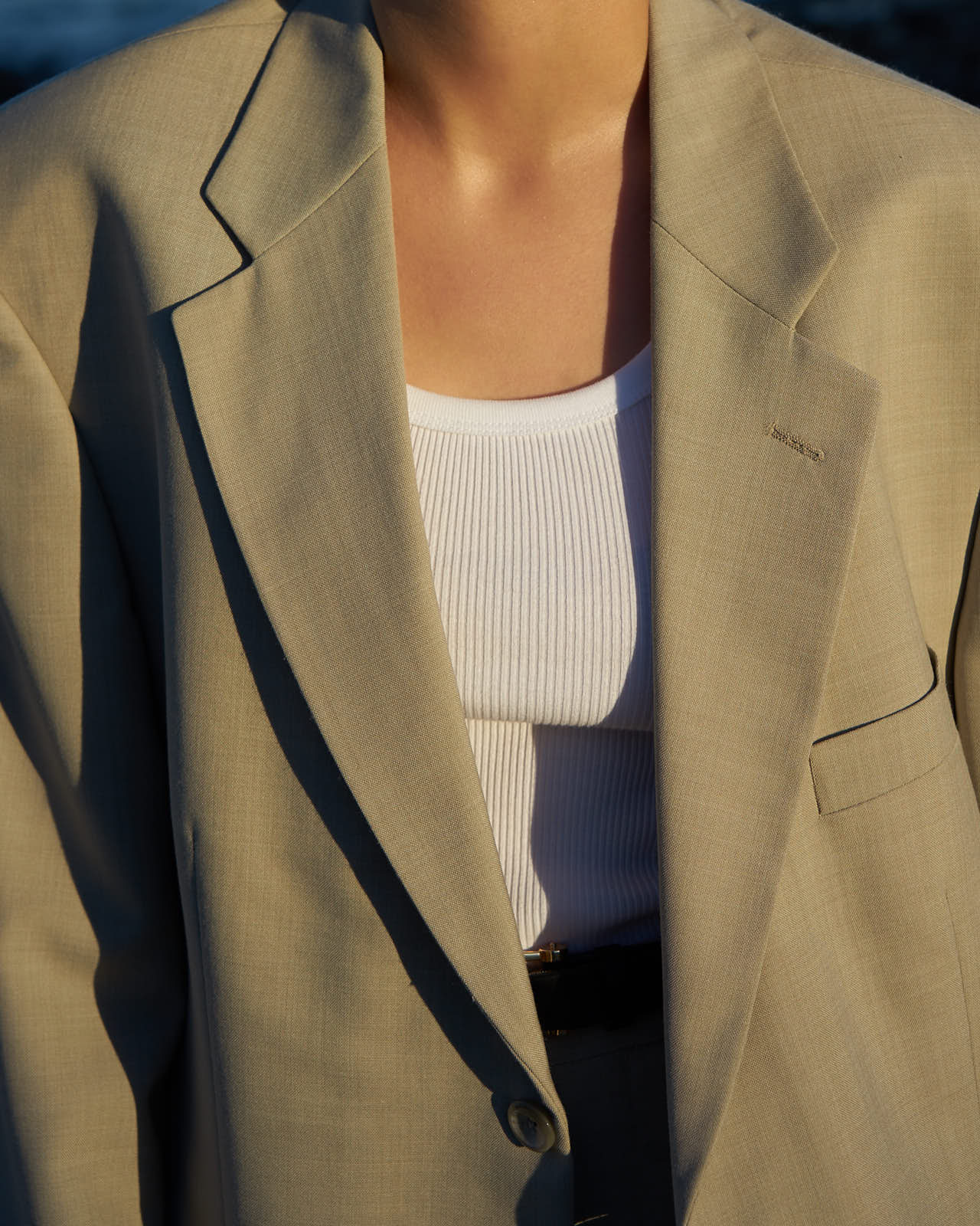 the level vintage blazer denim ralph lauren valentino dior