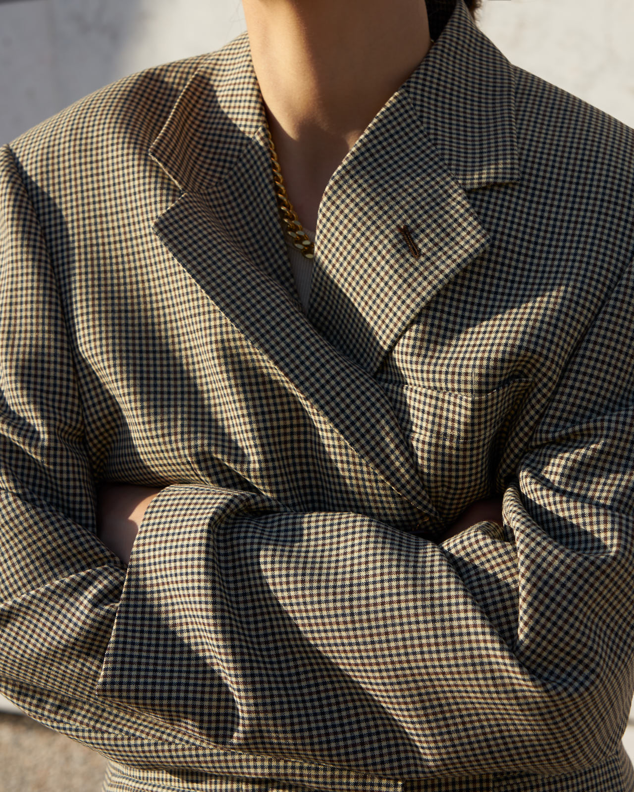 the level vintage oversized blazer tailoring menswear thelevelstore