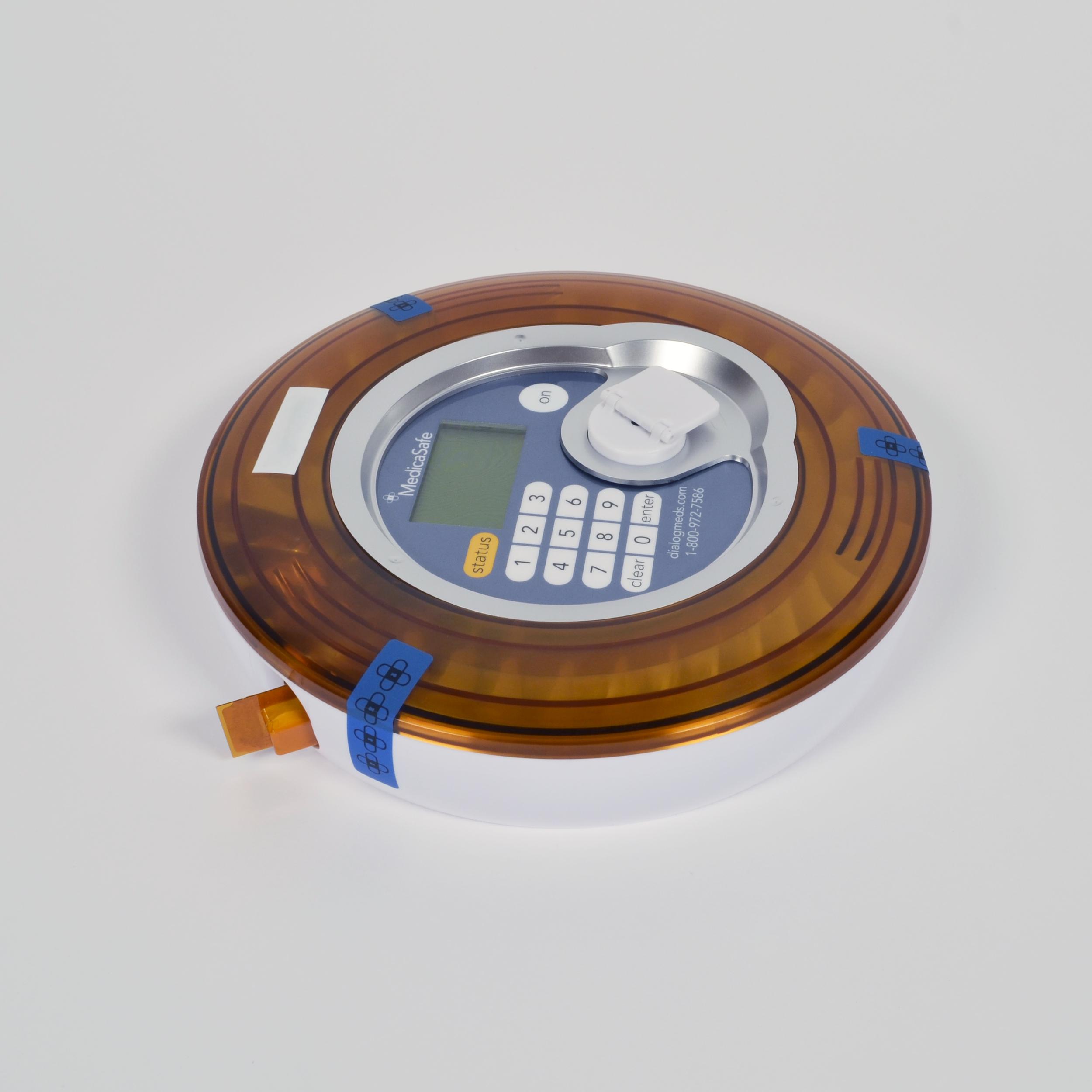 The original MedicaSafe device