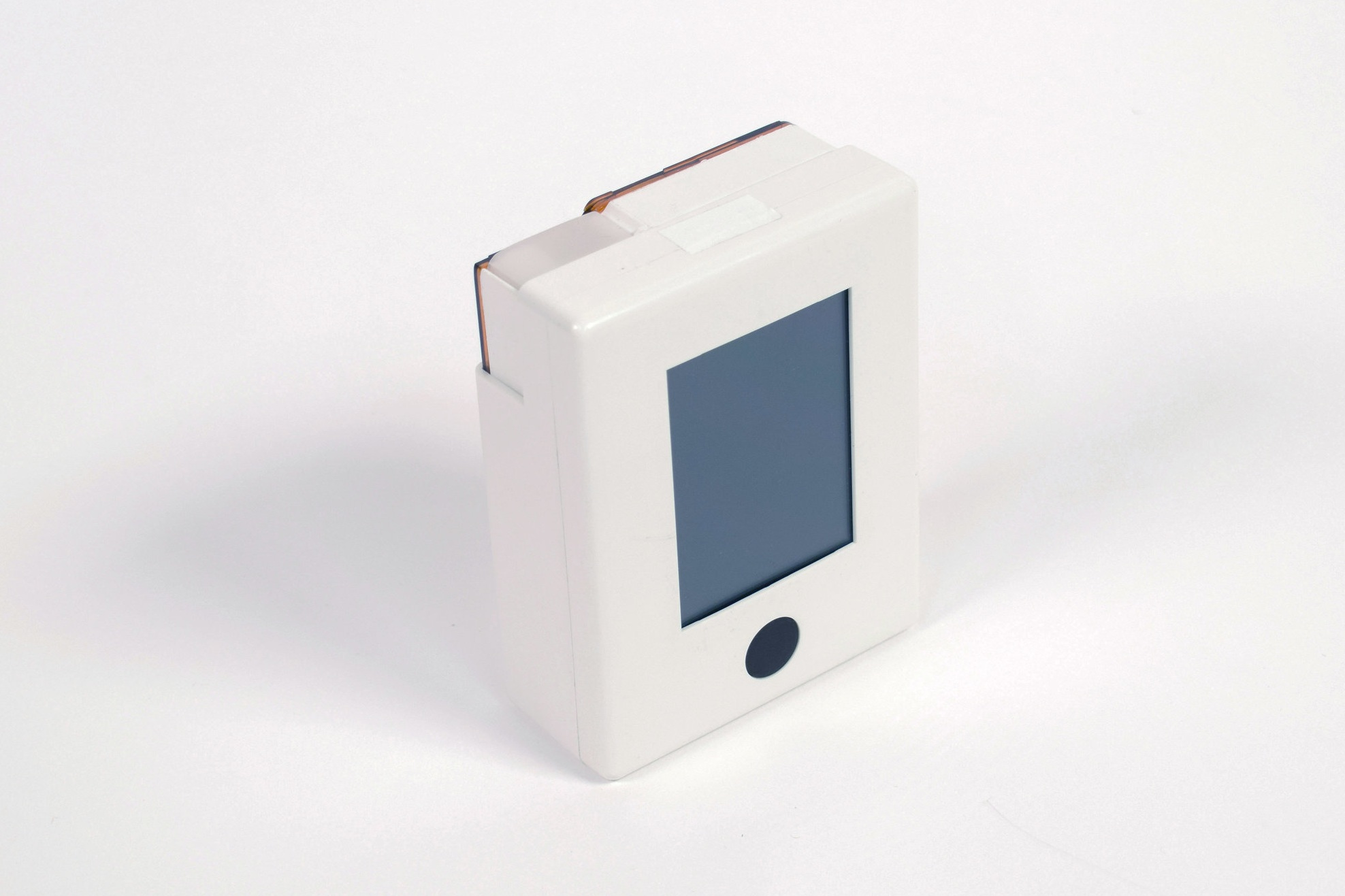 The second generation MedicaSafe device, with a cartridge inserted