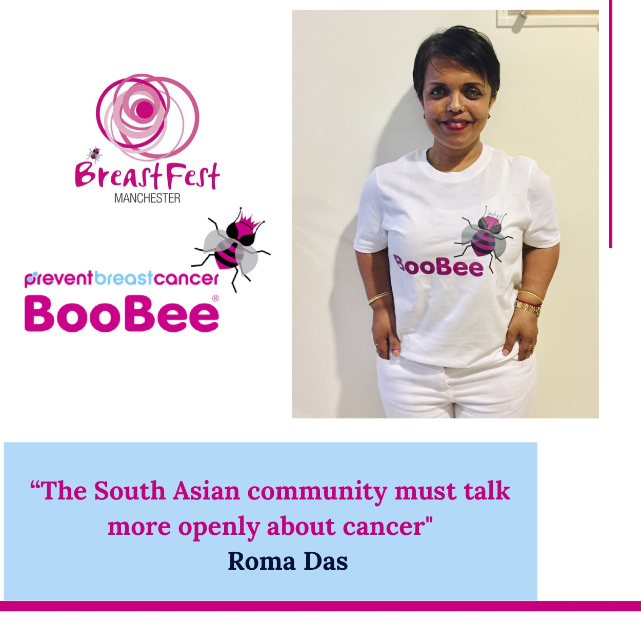 ROMA DAS - Click here to read Roma's story