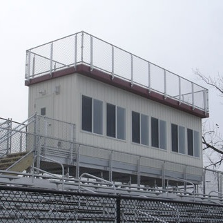 ELEVATED PRESS BOXES -